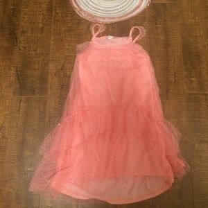 Other - FREE with purchase Girls pink dress /sun hat